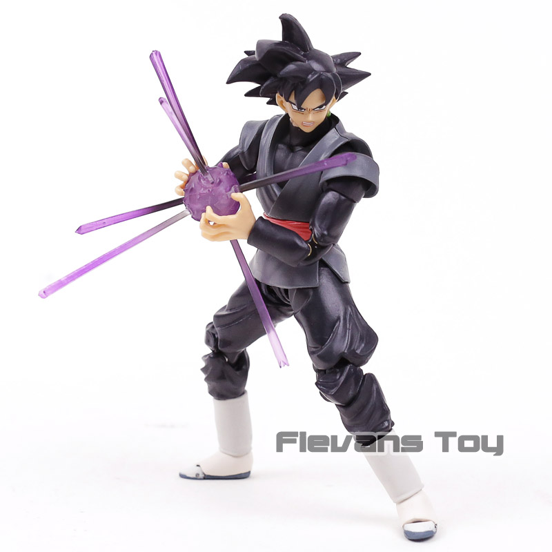 SHF S.H.Figuarts Dragon Ball SUPER Goku Black Zamasu PVC Action Figure Collectible Model Toy shf s h figuarts sailor moon black lady pvc action figure collectible model toy