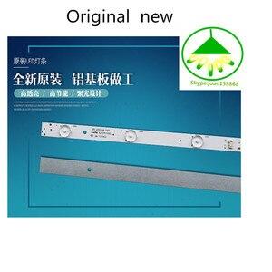 Image 4 - 6 pçs/set New100 % Lâmpada de retroiluminação LED tira para Skyworth 32E3000 5800 W32001 3P00 05 20024A 04A 7LED 605 milímetros