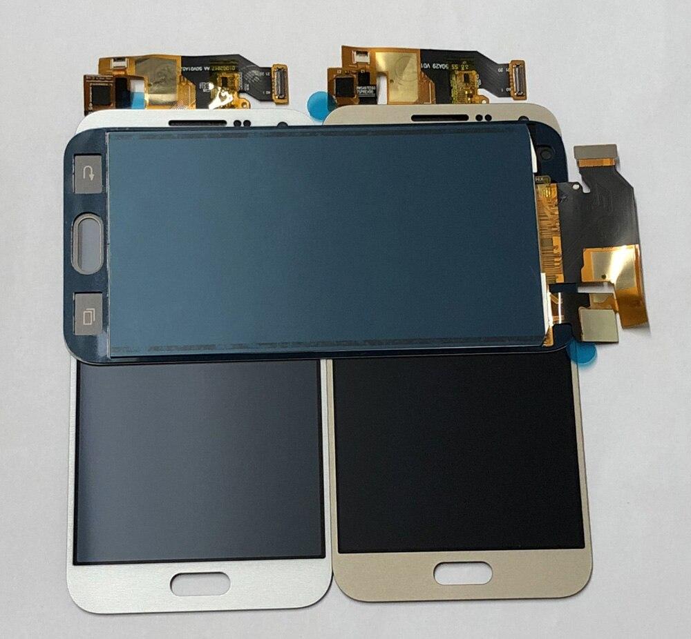 Сенсорный экран дигитайзер панель датчик + ЖК-дисплей монитор модуль в сборе для Samsung Glaxy E5 E500 E500F E500H E500M