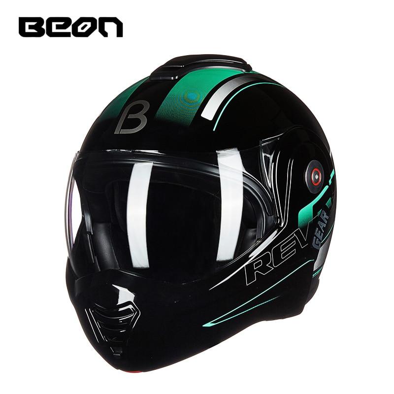 Vcoros casque moto rcycle modulable ouvert intégral course moto rbike casque double visière vintage moto casques ECE approuvé