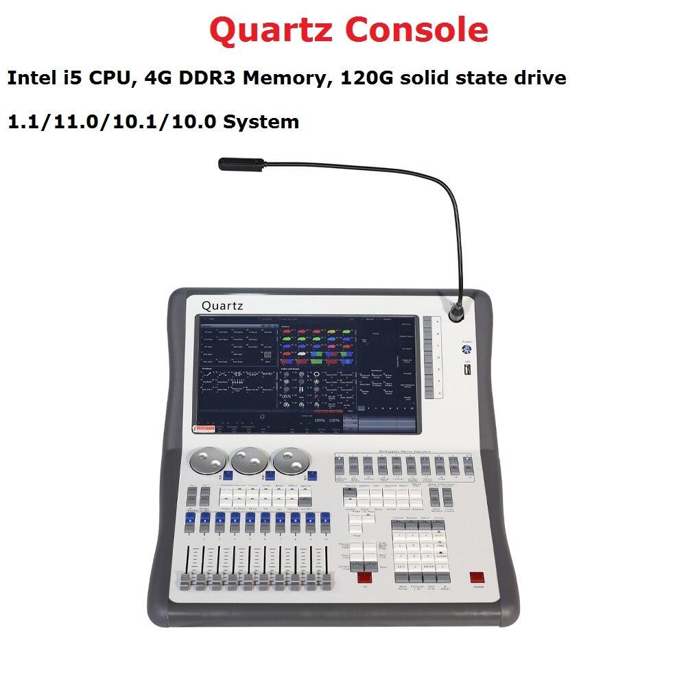 2019 plus récent Titan 11.1 système Quartz Console DMX512 contrôleur d'éclairage de scène pour scène Disco partie éclairage DJ équipements