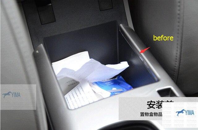 Для Chevrolet Malibu 2013 Черный! центральный Подлокотник Хранения Паллет Контейнер Коробка 1 шт.