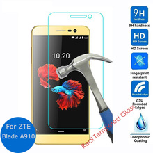 For ZTE Blade A910 Tempered Glass Screen Protector 0.3mm 2.5 9h Front Safety Protective Film On Blade A910 BA910 5.5