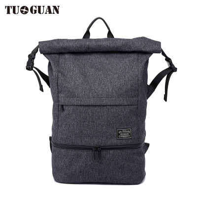 0067 TUGUAN Outdoor travel travel bag folding computer backpack swim bag fitness waterproof storage bag wet and dry separation philips brl130 satinshave advanced wet and dry electric shaver