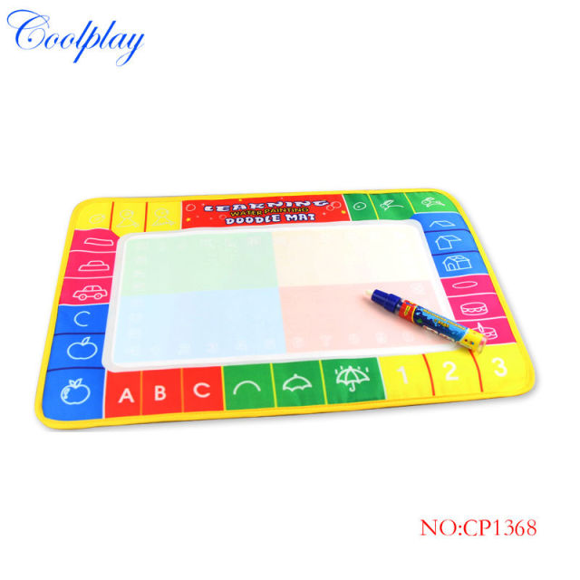 Coolplay CP1368 45X29cm Water Doodle Mat with 1 Magic Pen Drawing Toys Mat /Aquadoodle Drawing Mat/