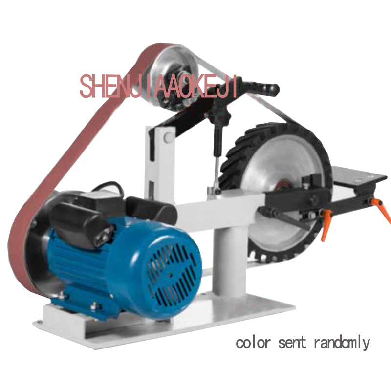 Sander Variable Speed Belt tool Polishing machine Knife grinding burr aluminum piece Multi functional safety belt machine 1pc|machine machine|machine tools|machine knife - title=