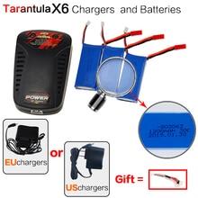 YIZHAN Tarantula X6 H16 pièce de rechange RC quadrirotor 3×7.4 V 1200 mAh Batteries + EU/US Plug balance chargeur drone accessoires