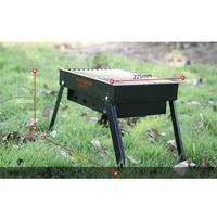 BBQ Carbon Grill Folding Outdoor Camping Picnic BBQ Grill Barbecue tools 30