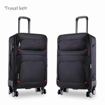 high quality waterproof Oxford Rolling Luggage Spinner men Business Brand Suitcase Wheels 20 inch Cabin Trolley High capacity - DISCOUNT ITEM  40% OFF All Category