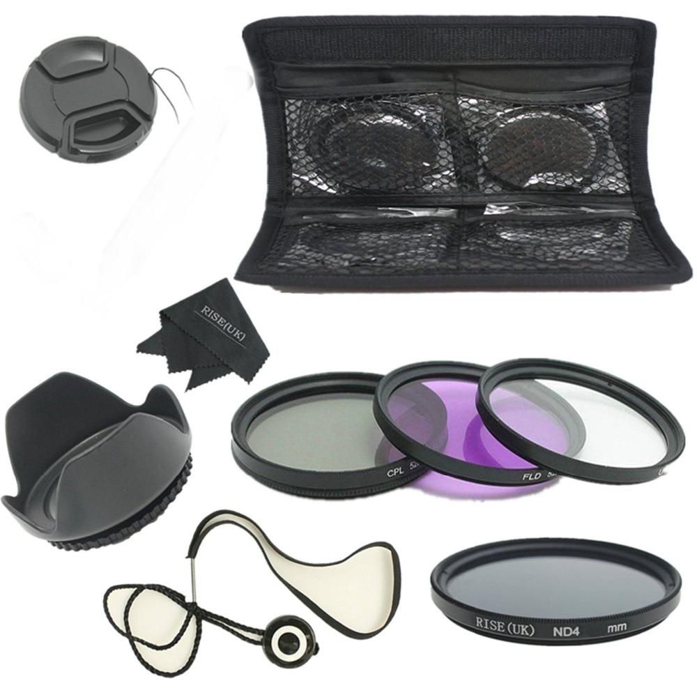 RISE (MB) 62mm UV CPL FLD ND4 Kit e Kapakut të Filtrit për Tamron - Kamera dhe foto - Foto 1