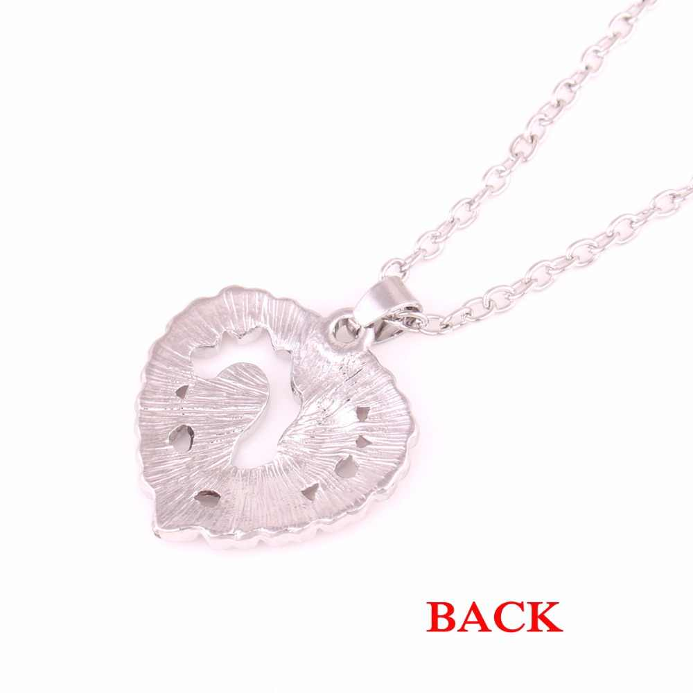 Moms Jewelry Birthday Gift Mother Baby Heart Pendant Mom Daughter Son Child Family Necklace