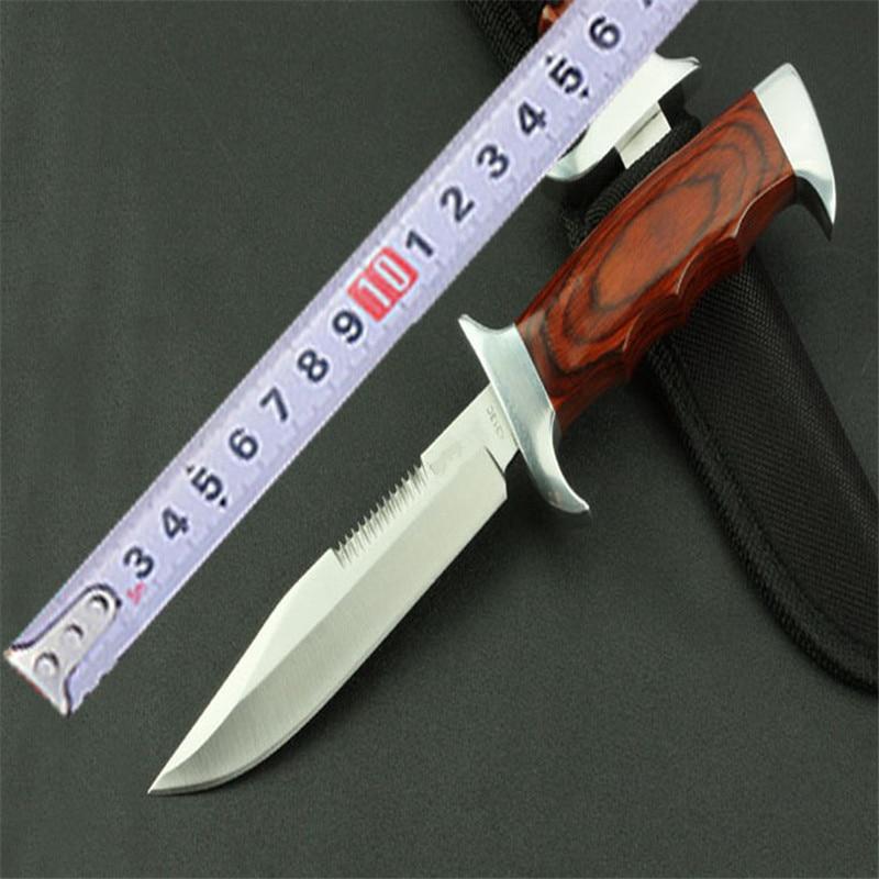 Couteau de chasse à lame fixe couteaux de survie Couteau Tactique edc en acier inoxydable Couteau Pliant Tactique Zakmes Scyzoryk