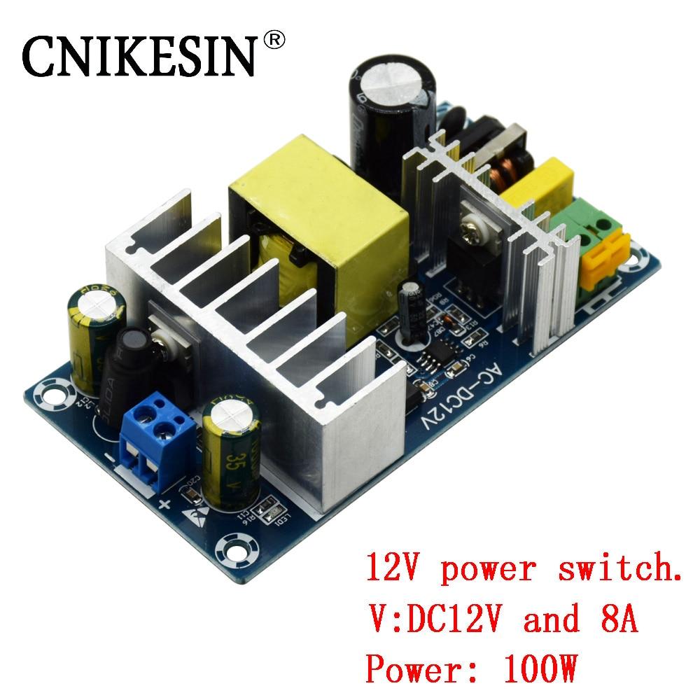 CNIKESIN 100 Watt AC-DC power module 12 V schaltnetzteil bord high-power 6A bis 8A schaltnetzteil modul Platine