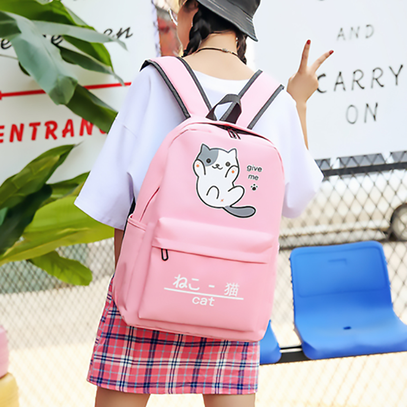 Cute Backpack Women Backpack Cartoon Travel Bag Students Shoulder Bag For Teenage Girl School Bag Bagpack Rucksack Knapsack 2019 Рюкзак