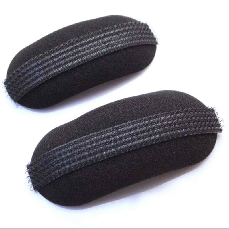 2PCS Sponge Black Head Hair Fluffy Increased Pads Korean DIY Hair Styling Accessories Headwear