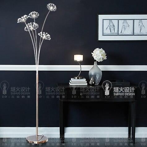 flint fire dandelion design creativo semplice luxury crystal led ...