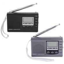 Портативный Радио DSP FM/MW/SW Приемник Чрезвычайных радио с Цифровой Будильник Fm-радио Fm-приемник Бесплатная доставка