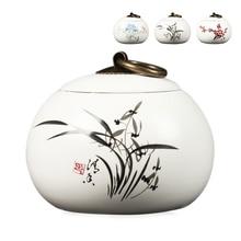 111    2017 China Storage Bottles High-grade ceramic tea canister Gift storage jar Tea caddy Sugar Bowl Salt shaker storage tank