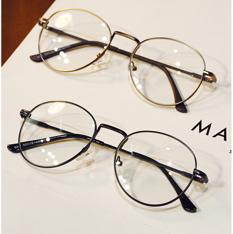 DRESSUUP Vintage Clear Lens Anti Fatigue Women Brand Design Men ...