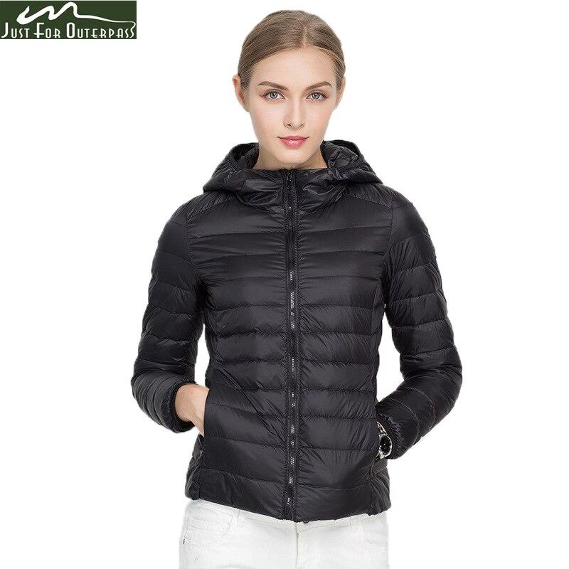 2017 neue Marke Damen Winter Warme Mantel Frauen Ultra Licht