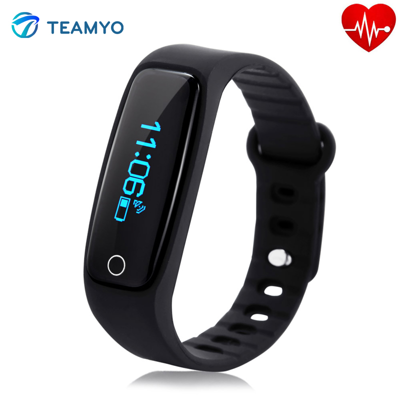 Teamyo H30 Smart Band OLED Display Bluetooth 4 0 Heart Rate Monitor Sleep Fitness Tracker Smart