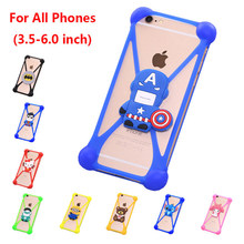 цена на Fashion 3D Cartoon Anti knock TPU Rubber Cell Phone Case For Explay Light Silicone Phone Cover Capa