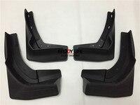 4pcs Black Front Rear Mudguard Mud Flaps Splash Guard Fender For Benz GLS Class 2016 GLS350
