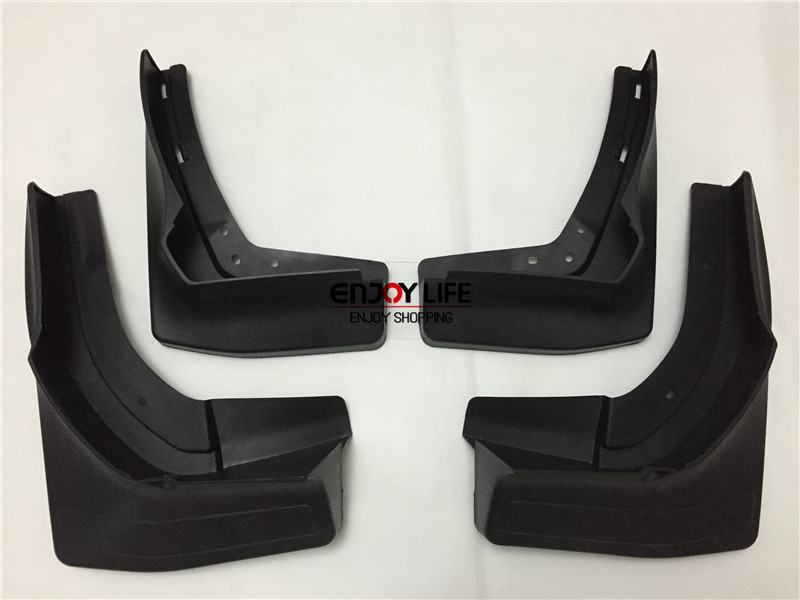 Black Front+Rear Mudguard Mud Flaps Splash Guard Fender For Mercedes GL Class Benz X166 2012-2015 GL350 GL450 GL500 GL550 auto fuel filter 163 477 0201 163 477 0701 for mercedes benz