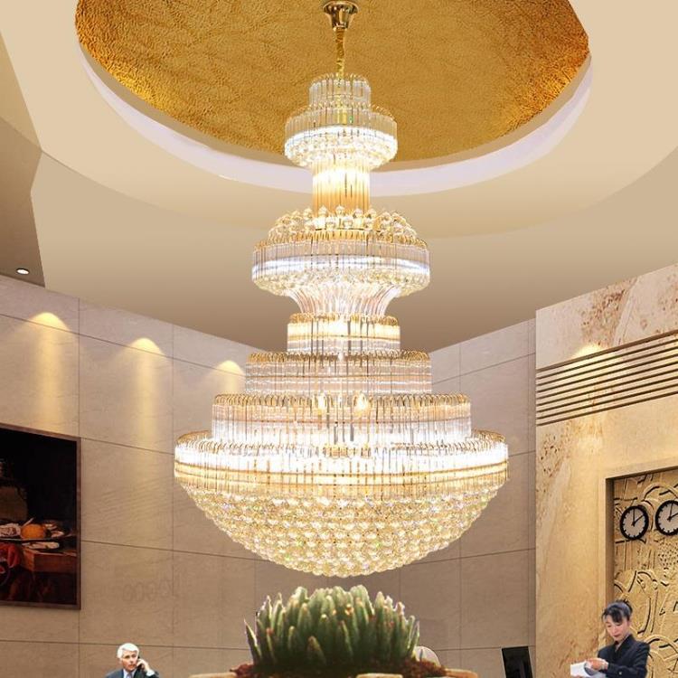 Gouden kristallen kroonluchter Moderne kroonluchters Verlichting - Binnenverlichting - Foto 3