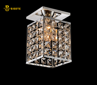 E14 LED Crystal Entrance Ceiling Lights / Aisle / Hallway / Corridor Ceiling Lamp with LED bulb. for Choice E14 Candle bulb