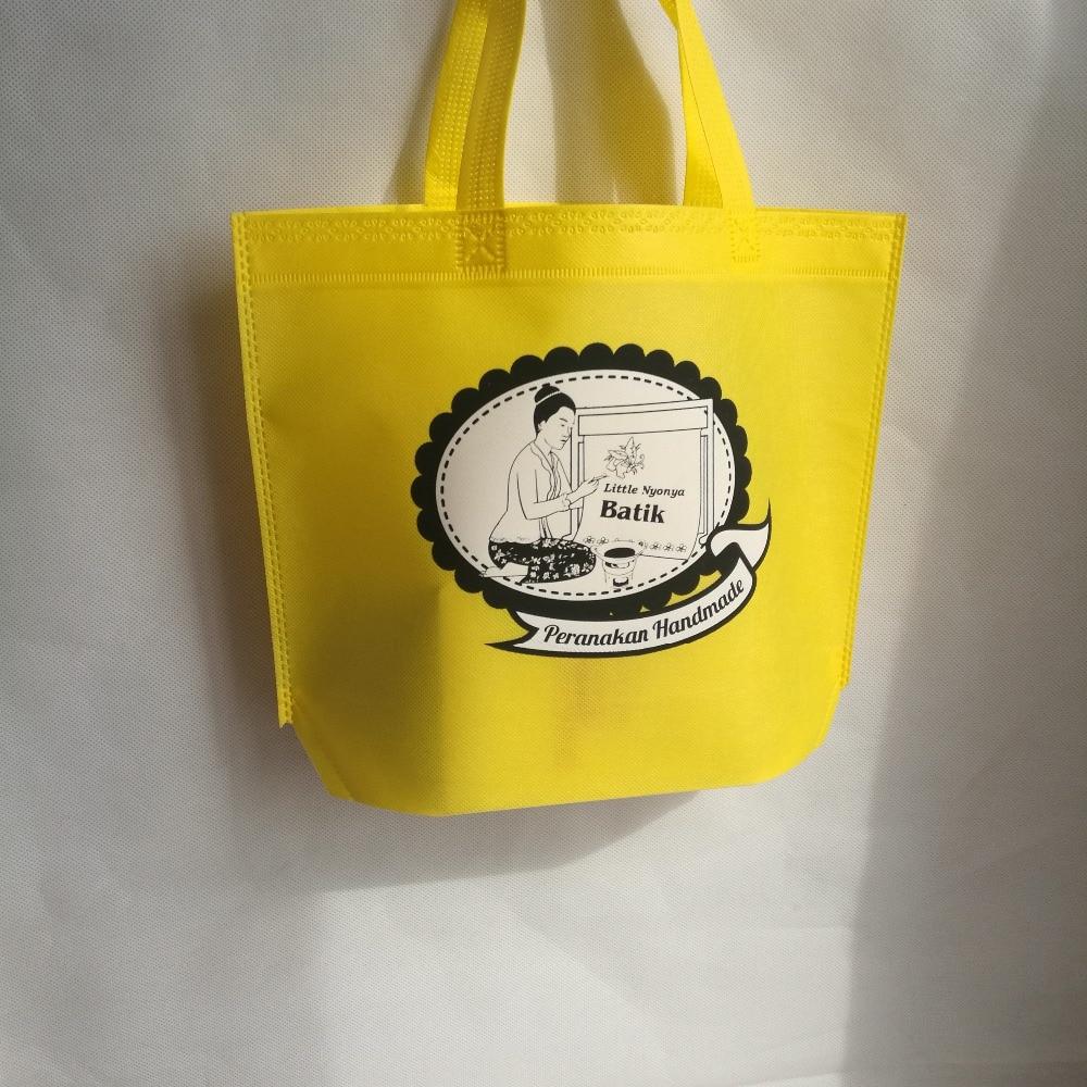 500 teile/los Heißer Verkauf individuelles logo reusable Non Woven stoff Einkaufstasche/Einkaufstasche/Recycelbar geschenk taschen für kleidung/bademode/geschenke-in Einkaufstaschen aus Gepäck & Taschen bei  Gruppe 3