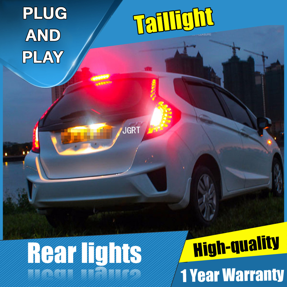 4PCS Car Styling for Honda fit Taillights 2014 2016 for fit LED Tail Lamp Turn Signal