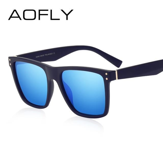 AOFLY Men Polarized Sunglasses Vintage Male Sunglasses Polaroid lenses Fashion Brand Designer Goggles Oculos Gafas De So AF8033 2