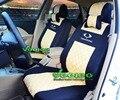 (Передние + Задние) Автомобилей Чехлы Для SsangYong Автокресло Крышка Korando Actyon Kyron Rodius Rexton Tivolan Автомобиля охватывает Бесплатная Доставка