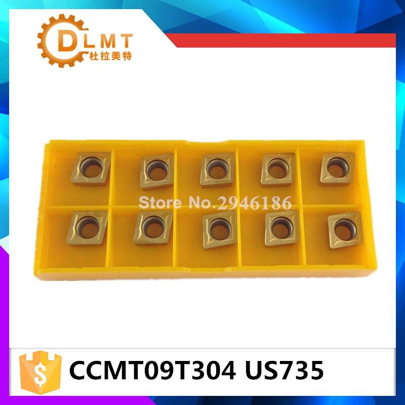 20tk / komplekt DFUTE CCMT09T304 US735 Karbiidi freesimine ja - Tööpingid ja tarvikud - Foto 2