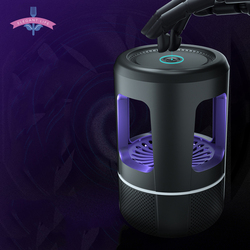 Electric Mosquito Killer Lamp Touch Switch USB LED Bug Zapper Insect Trap Radiationless Physical Wind Suck Mosquito Room Home