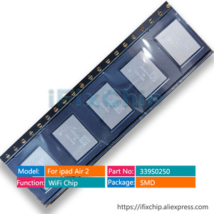 Image 3 - 10pcs/lot For ipad air 2 for ipad 6 high temperature wifi ic 339S0250 (only for wifi version) A1566
