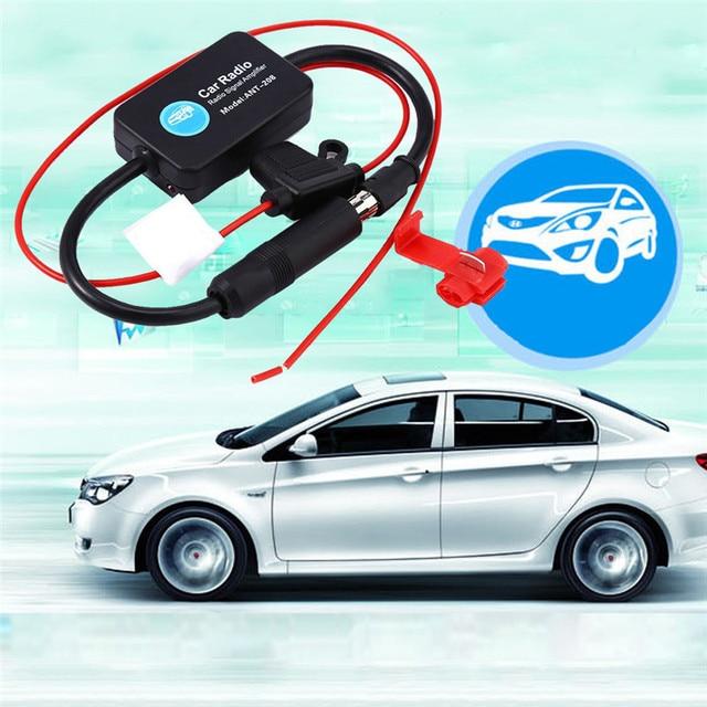 Car Aerial Antenna 12V Car Automobile Radio Signal Amplifier ANT 208 ...