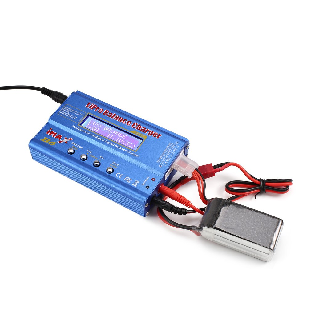 Original iMAX B6 80W 6A Lipo NiMh Li-ion Ni-Cd RC Balance Charger 10W2A Discharger with 15V/6A AC/DC Adapter for RC ModelBattery llt светильник сд ав сдсо 089 выход 1 5 часа ni cd ac dc