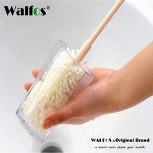 WALFOS 1 шт. Удобная губка для чистки бутылок кисти легко чистить Рисование стеклянные чашки щетка с длинной ручкой кухонная чашка щетка