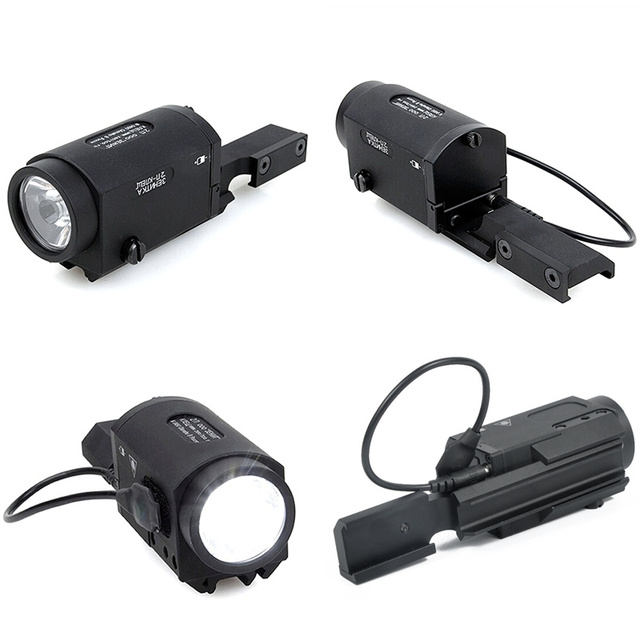 Weapon Light AK-SD Tactical Light 500 Lumens White LED Gun Light Flashlight Come With Shown Mount for Hunting