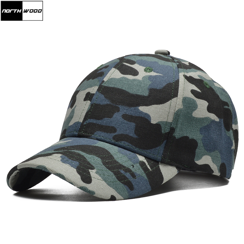 Baseball-Cap Trucker-Cap Camouflage-Cap Bone Snapback Quality Women 100%Cotton Brand