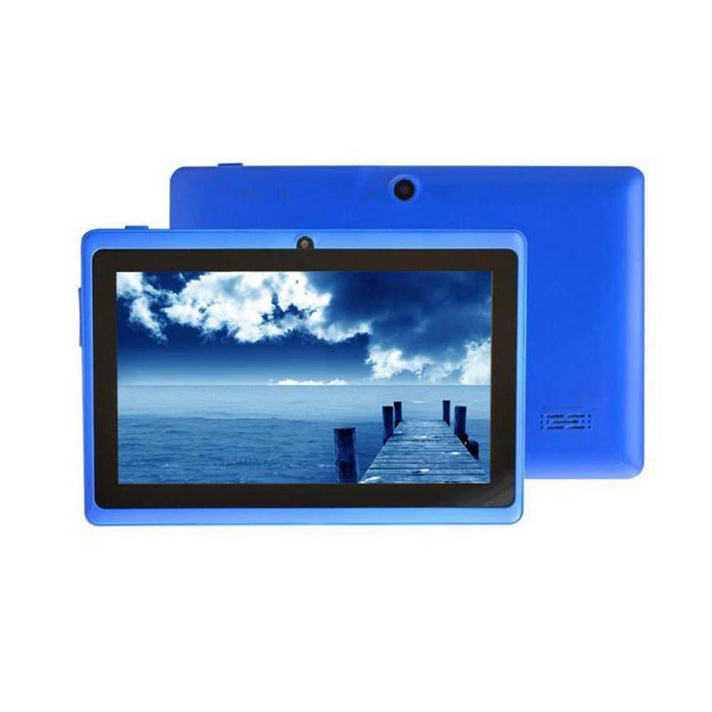 7 Android 4.4 8GB Dual Cameras Quad Core WiFi Kids Tablet PC For Gifts Blue