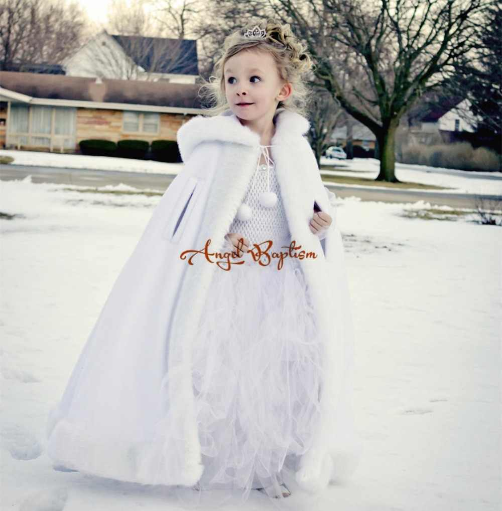 235974ff0 Detail Feedback Questions about Long Warm White flower girl faux fur ...