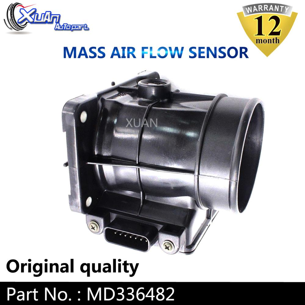 XUAN MAF MASS AIR FLOW METER SENSOR MD336482 For Mitsubishi Montero Outlander Pajero Galant 2000 E5T08071 image