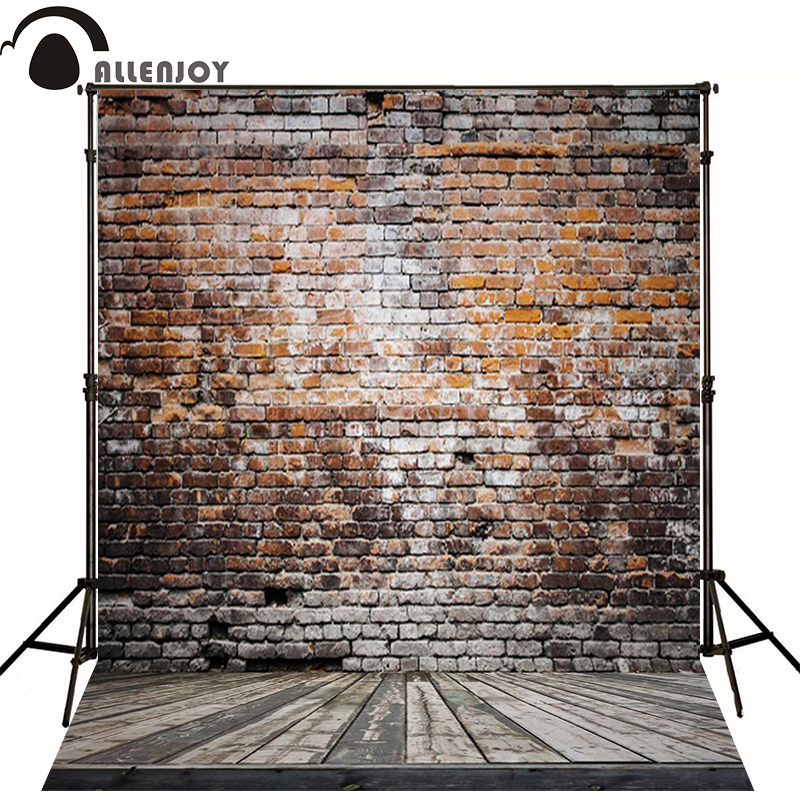 Photography backdrops 300*200cm(10*6.5ft) wall background Broken wooden bricks vinyl photography backdrops photo studio