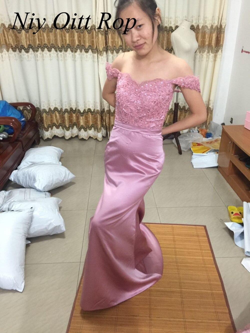 Sexy Afrikanische Mermaid Rosa Erröten Brautjungfernkleider ...