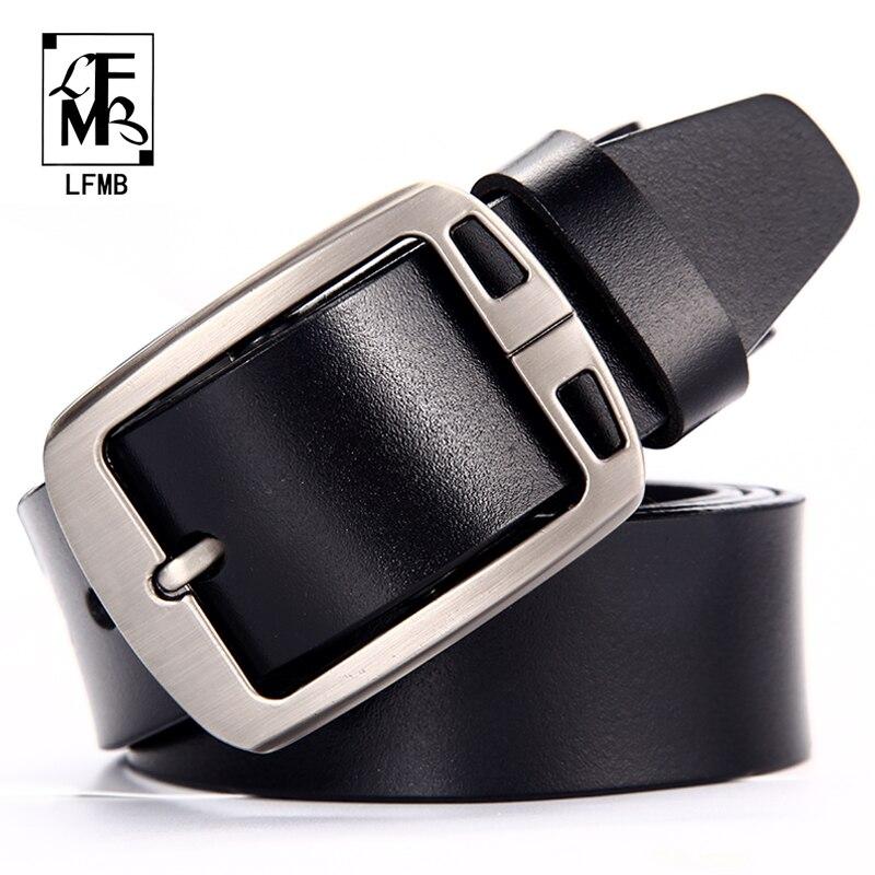 [LFMB] masculina correa de cuero genuino cinturones hombres de alta calidad cinturón de cuero hombres cinturones cummerbunds hombres de marca de lujo cinturón