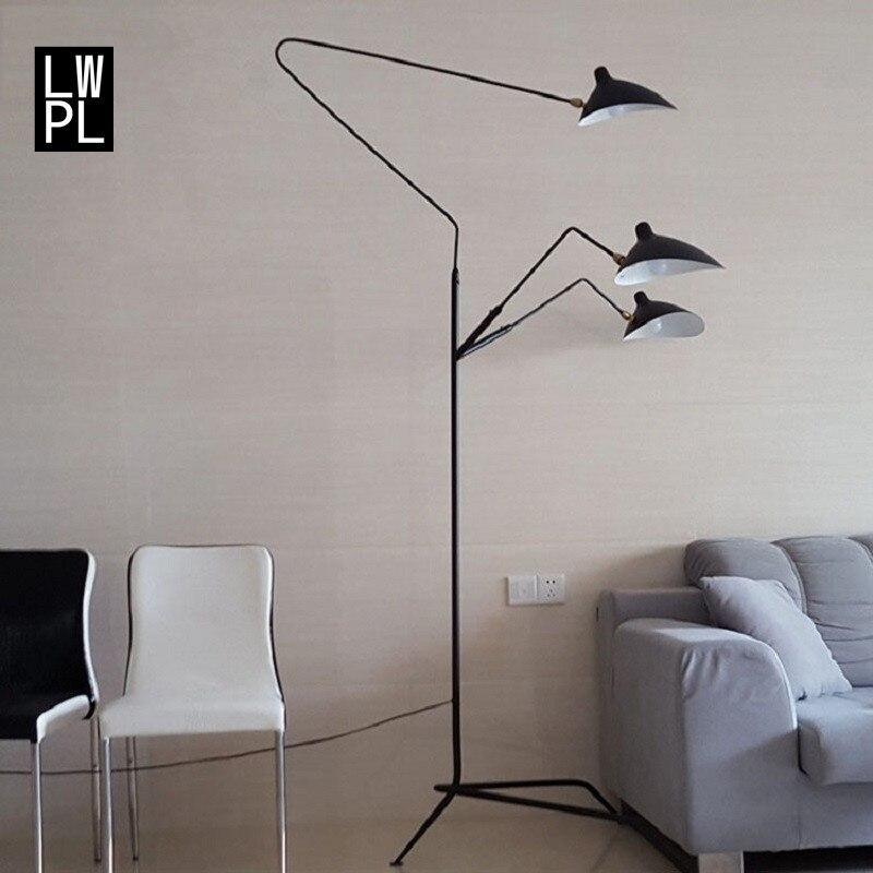 Nordique Lampe de Plancher Led Salon Créative En Bois Lampadaire Staande Lampe Designer Danois Griffes Floor Light Lampara Éclairage
