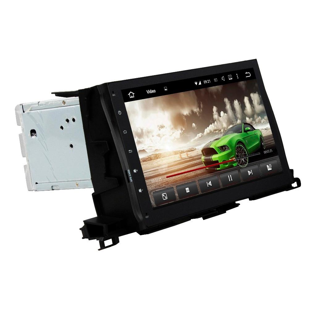 Android 8.0 Octa Core 10.1 Car Multimedia DVD GPS for Toyota Highlander 2015-2017 With 4GB RAM Radio Bluetooth WIFI 32GB ROM